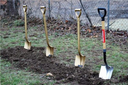 SRMBC Groundnbreaking Shovels
